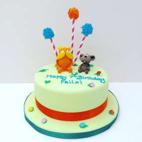 The Lorax Birthday Cake